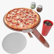 比萨 3d model