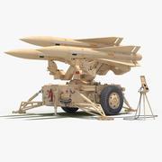 MIM-23 Hawk (Desert Color) 3d model