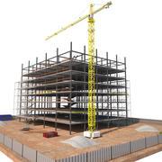 Construção 3d model