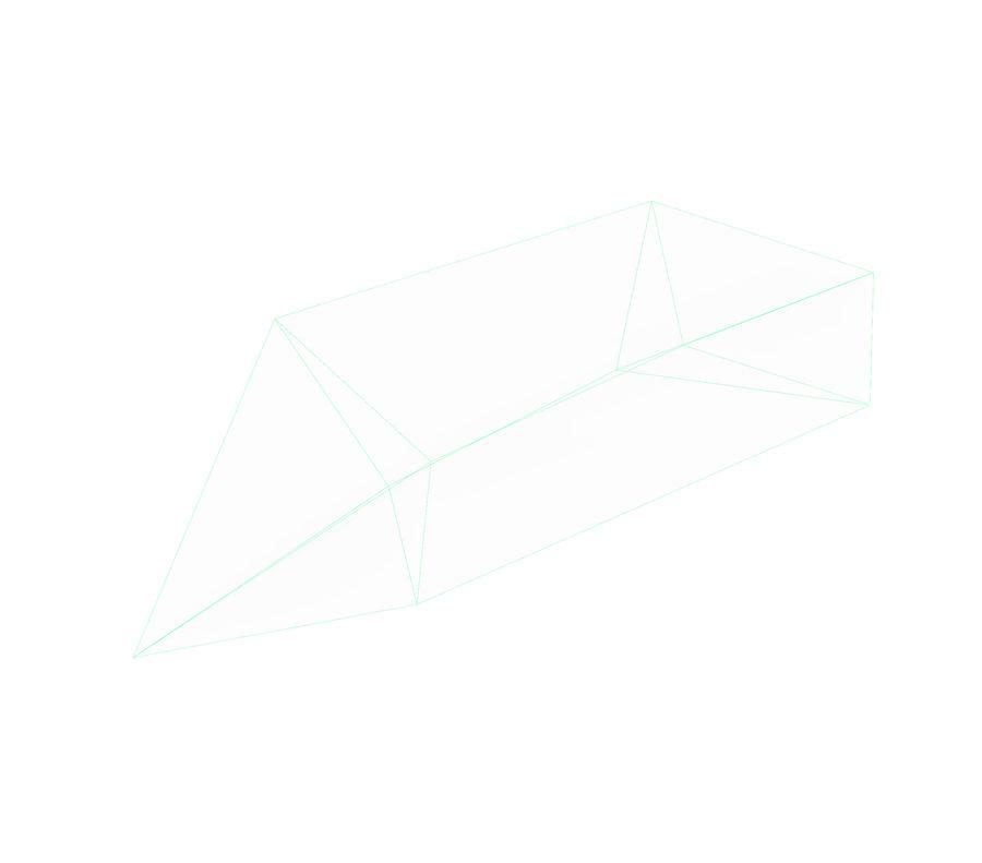 Foglia caduta royalty-free 3d model - Preview no. 19