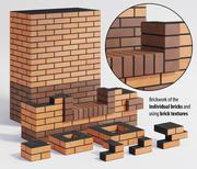 Brickwork 3d model