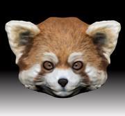Красная панда 3d model