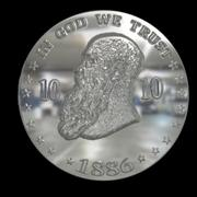 design coin 3 3d model