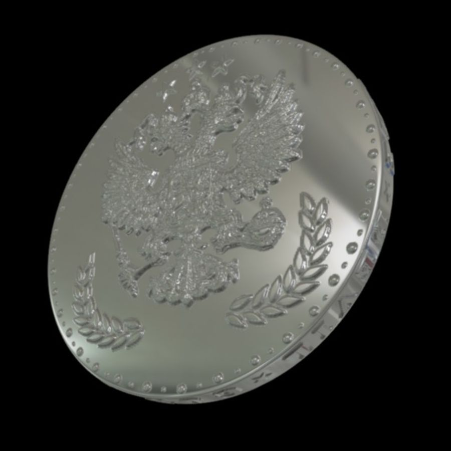 design coin 3 royalty-free 3d model - Preview no. 5