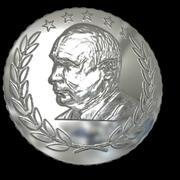 Putin design coin 3d model