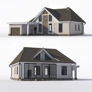 Tavan arasında bir ev. 3d model