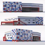 Köpcentrum 3d model