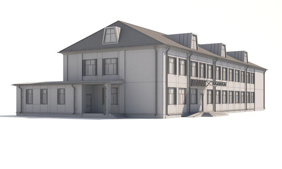 Bâtiment public royalty-free 3d model - Preview no. 5