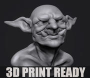 Twoll Büste für 3D-Druck 3d model