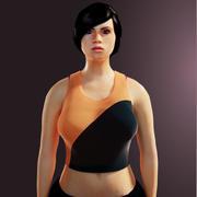 人間の女の子 3d model