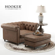 Hooker Furniture - Alexa Armchair 3d model