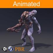 Karaktär Parazite 3d model