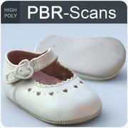 132_baby shoes-hi 3d model