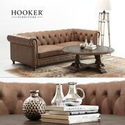 Hooker Möbler | Alexa soffa 3d model