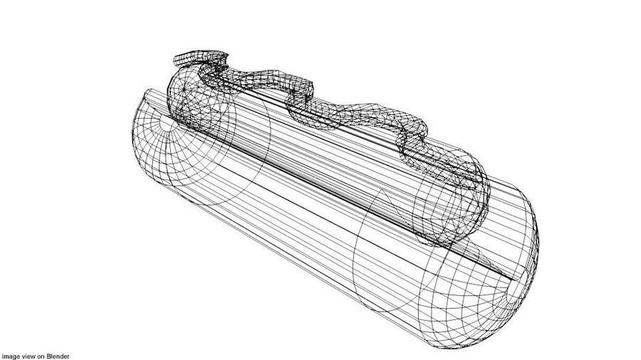 Fastfood - Hotdog royalty-free 3d model - Preview no. 4