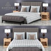 Set per camera da letto da dantonehome.ru 3d model