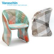 바라 진 마트 안락 의자 3d model