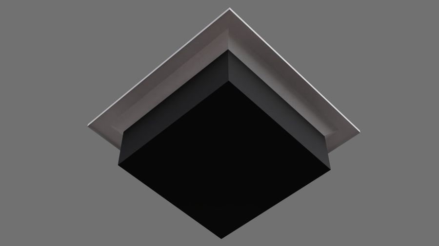 Air Vent 3A royalty-free 3d model - Preview no. 5