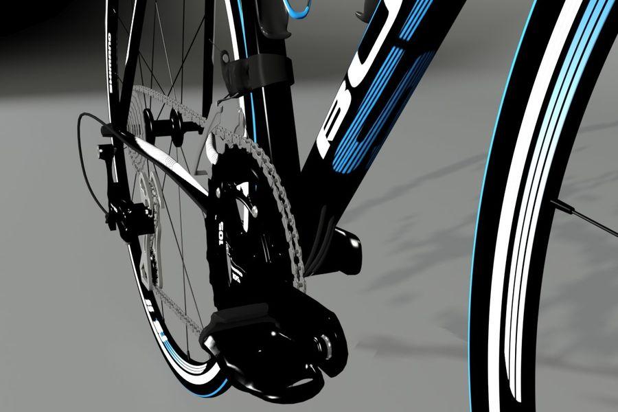 Road Bike royalty-free 3d model - Preview no. 9
