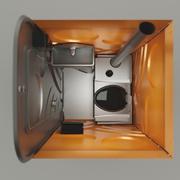 Chemical Toilet 3d model