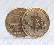 ビットコイン 3d model