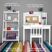 Mobiliário infantil 3d model
