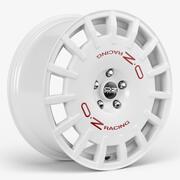OZ Racing Rally Wheel 3d model