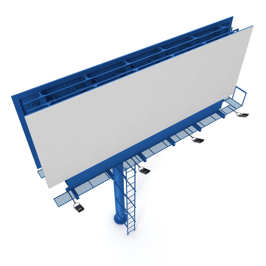 Billboard royalty-free 3d model - Preview no. 13