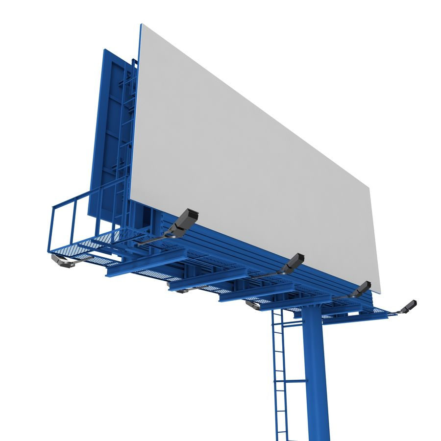 Billboard royalty-free 3d model - Preview no. 9