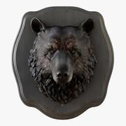 Cabeza de oso modelo 3d