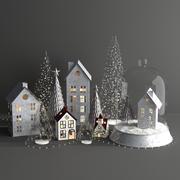圣诞装饰 3d model