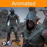 Personagem Orc Kanit 3d model