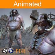 Персонаж Орк Магур 3d model