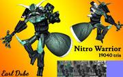 Nitro Warrior 3d model