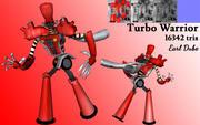 ターボ戦士 3d model