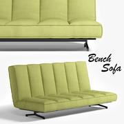 Sofa do banco 3d model
