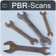 120_wrench-hi 3d model