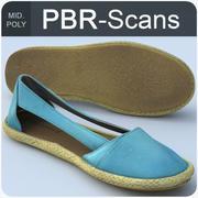 133_shoes-mid 3d model