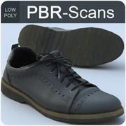 135_靴-低 3d model