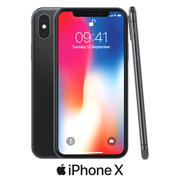 Apple iPhone X-model 3d model