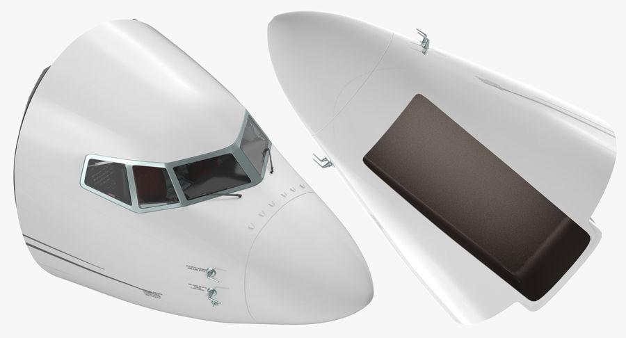 Cockpit d'avion de passagers royalty-free 3d model - Preview no. 4
