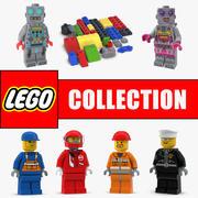 Colección de modelos 3D de Lego 2 modelo 3d