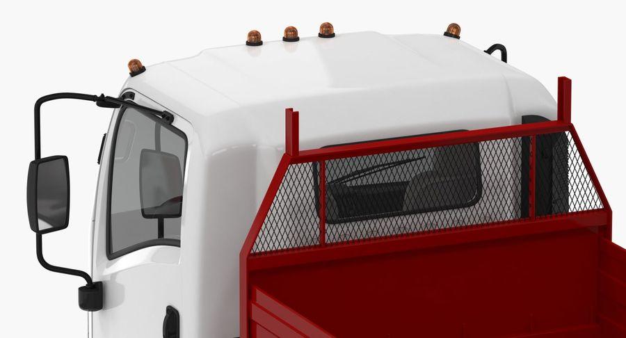 Isuzu NPR Dropside 2018 Rigged 3D Model royalty-free 3d model - Preview no. 11