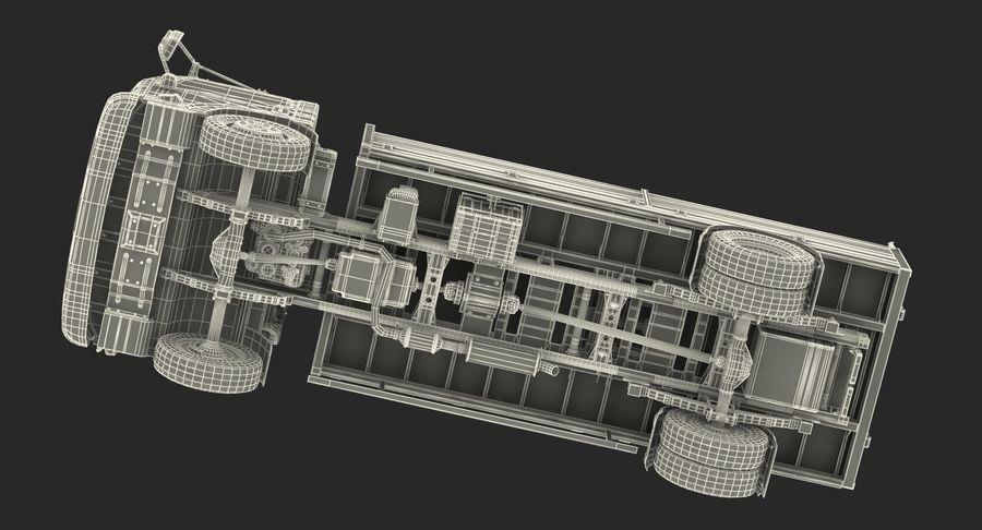Isuzu NPR Dropside 2018 Rigged 3D Model royalty-free 3d model - Preview no. 24