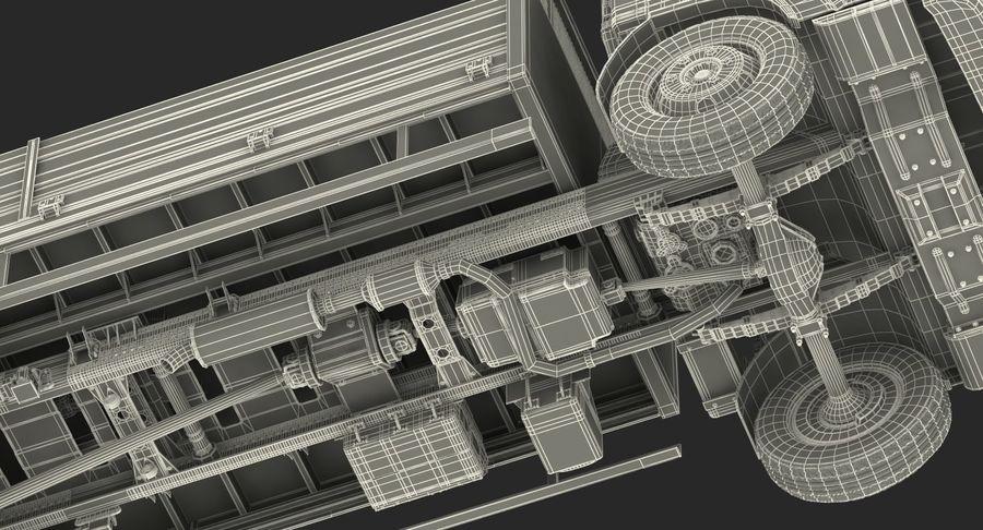 Isuzu NPR Dropside 2018 Rigged 3D Model royalty-free 3d model - Preview no. 26