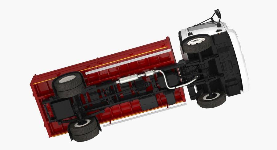 Isuzu NPR Dropside 2018 Rigged 3D Model royalty-free 3d model - Preview no. 9