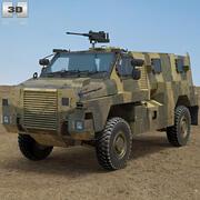 Véhicule à mobilité protégée Bushmaster 3d model