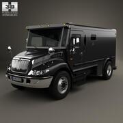 インターナショナルデュラスターアーマードキャッシュトラック2002 3d model