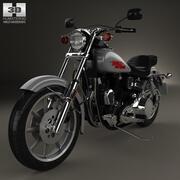 Harley-Davidson FXS Low Rider 1980 3d model