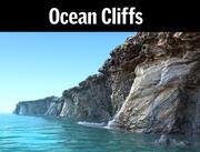 Oceaan Cliff HD 3d model